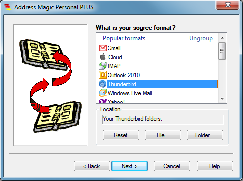 Address Magic Personal PLUS 9.0.426 Screen shot